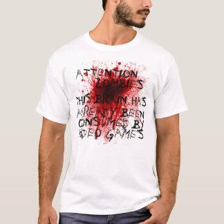 Aufmerksamkeitszombies T-Shirt