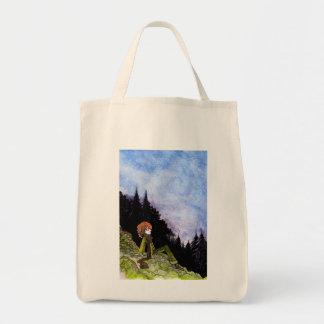 Aufpassen der Himmel-Taschen-Tasche Tragetasche