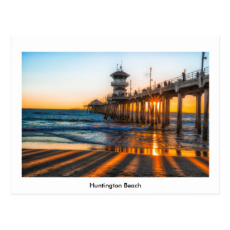 Aufpassen des Sonnenuntergangs Postkarte