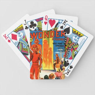Aufregende Wunder-Geschichten -- Zukünftiges Bicycle Spielkarten