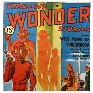 Aufregende Wunder-Geschichten -- Zukünftiges Stoffserviette