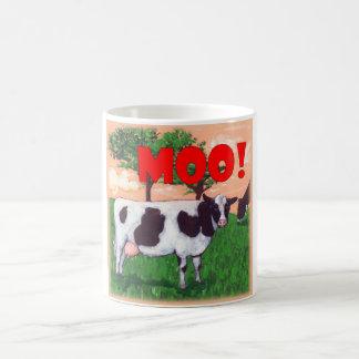 Aufsässige Kuh Kaffeetasse