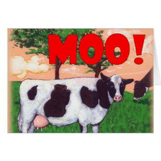 Aufsässige Kuh Karte