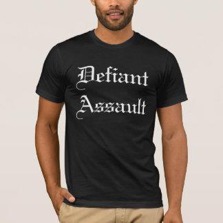 Aufsässiger Angriff - besonders angefertigt T-Shirt
