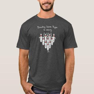 Aufsässiger Bowling T-Shirt