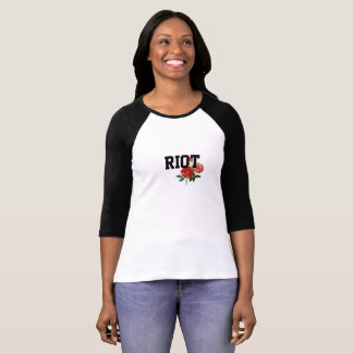 Aufstand mit raglan-T - Shirt der Rosen-Frauen die