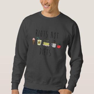 Aufstand-nicht Diäten Crewneck Sweatshirt