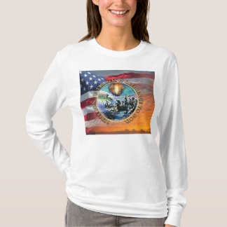 Aufstand zur Tyrann-Säule des Feuer-T - Shirt