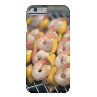 Aufsteckspindel mit gegrillten Garnelen und Barely There iPhone 6 Hülle
