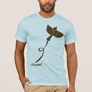 Aufsteigen-braun T-Shirt