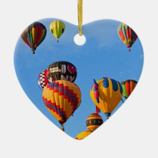 Aufsteigende Ballone 6788 Keramik Ornament