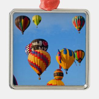 Aufsteigende Ballone 6788 Silbernes Ornament