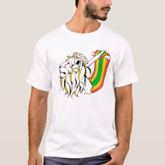 Aufsteigender Rasta Reggae-Löwe T-Shirt
