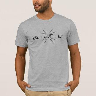 Aufstieg ^ Ruf ^ Tat T-Shirt