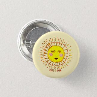 Aufstieg u. Glanz Runder Button 3,2 Cm