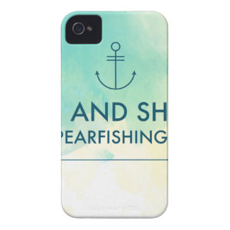 Aufstieg und glänzen es ist Spearfishing Zeit Case-Mate iPhone 4 Hülle