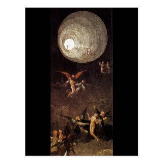 Aufstieg von gesegnet, durch Hieronymus Bosch Postkarten
