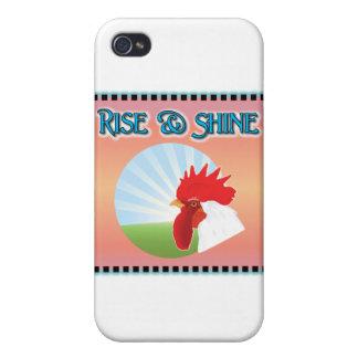 Aufstiegs-und Glanz-Hahn Schutzhülle Fürs iPhone 4