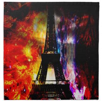 Aufstiegs-wieder Pariser Träume Serviette