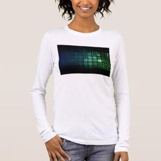 Auftauchende Technologien auf der ganzen Welt als Langarm T-Shirt