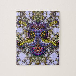 Auftauchendes Puzzlespiel 7 des Mosaik-Anker-V Puzzle