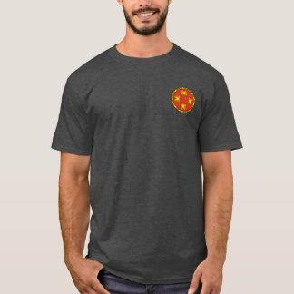 Auftrag des Drache-runden Siegel-Shirts T-Shirt