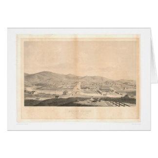 Auftrag Dolores, San Francisco 1860 (1097A) Karte