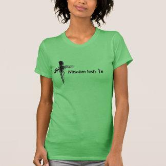 Auftrag Indy Quert-stück T-Shirt