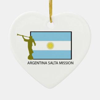 AUFTRAG LDS ARGENTINIENS SALTA KERAMIK ORNAMENT