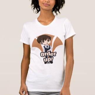 Auftrag oben T-Shirt