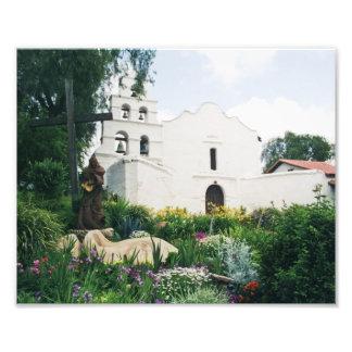 Auftrag San Diego de Alcala Photographischer Druck