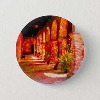 Auftrag San Juan Capistrano Kalifornien abstrakt Runder Button 5,7 Cm