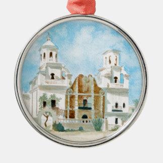 Auftrag San Xavier Del Bac Silbernes Ornament