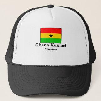 Auftrag-T - Shirt Ghanas Kumasi Auftrag-LDS Truckerkappe