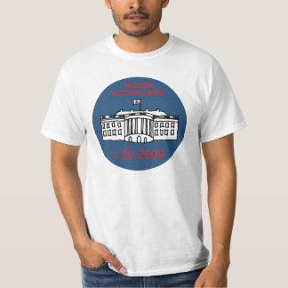 Auftragerreichte Obama-Einweihung T-Shirt