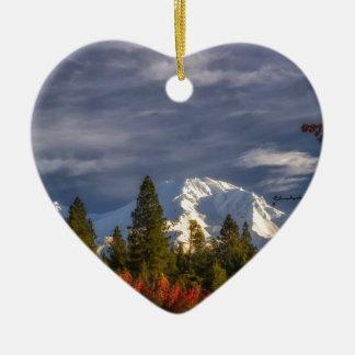 Aufwachen Keramik Herz-Ornament