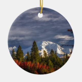 Aufwachen Rundes Keramik Ornament