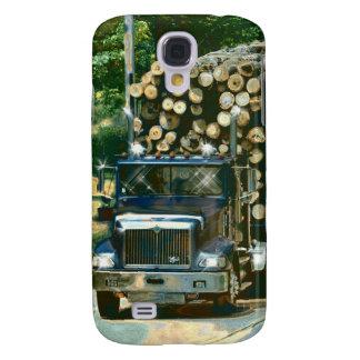 Aufzeichnenlkw-Lastwagen-FahrerHTC klarer Galaxy S4 Hülle