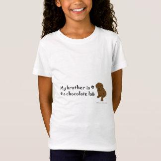 aug32015ChocoLabPuppyBrother.jpg T-Shirt