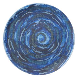 Auge 6th-Third Chakra Grafik #2 Melaminteller