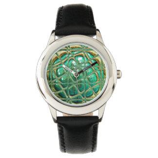 Auge der Eidechse Armbanduhr