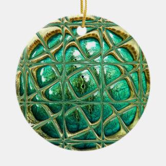 Auge der Eidechse Keramik Ornament