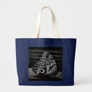 Auge der Schmetterlings-Tasche Jumbo Stoffbeutel