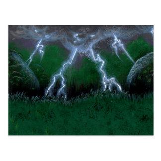 Auge der Sturm-Standard-Postkarte Postkarte