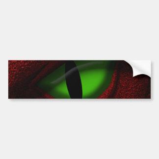 Auge des Drachen Autoaufkleber