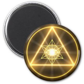 Auge des göttlichen runden Magneten Runder Magnet 5,1 Cm
