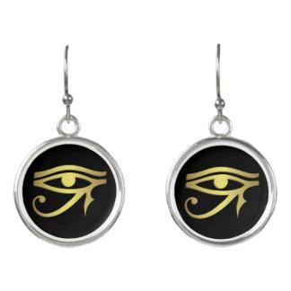 Auge des horus Ägyptersymbols Ohrringe