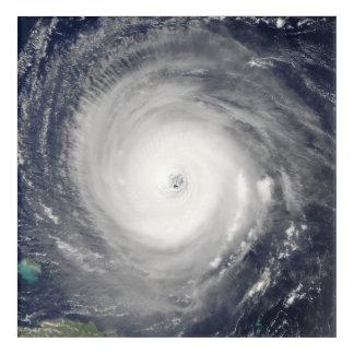 Auge des Hurrikans Acryldruck