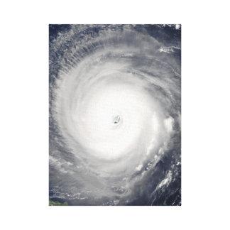 Auge des Hurrikans Leinwanddruck