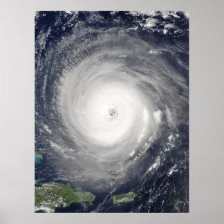 Auge des Hurrikans Poster